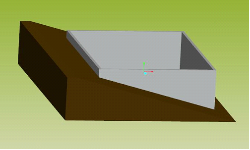Isometric View of Foundation