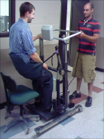 2005-06 project: Device to help individuals stand up out of a chair.