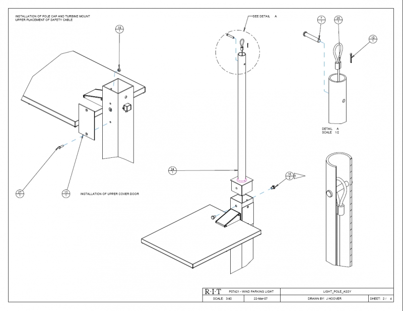 P07421 Complete Drawing Package
