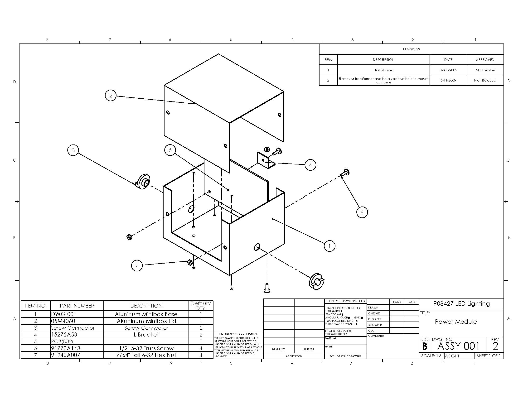 p08427 engineering schematics power module