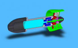 Cross Section View of the Thruster