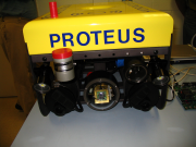 thumb | left | Front View of Proteus ROV