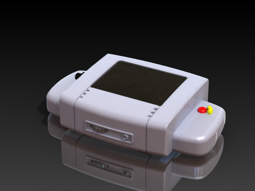Model Rendering Of Handheld