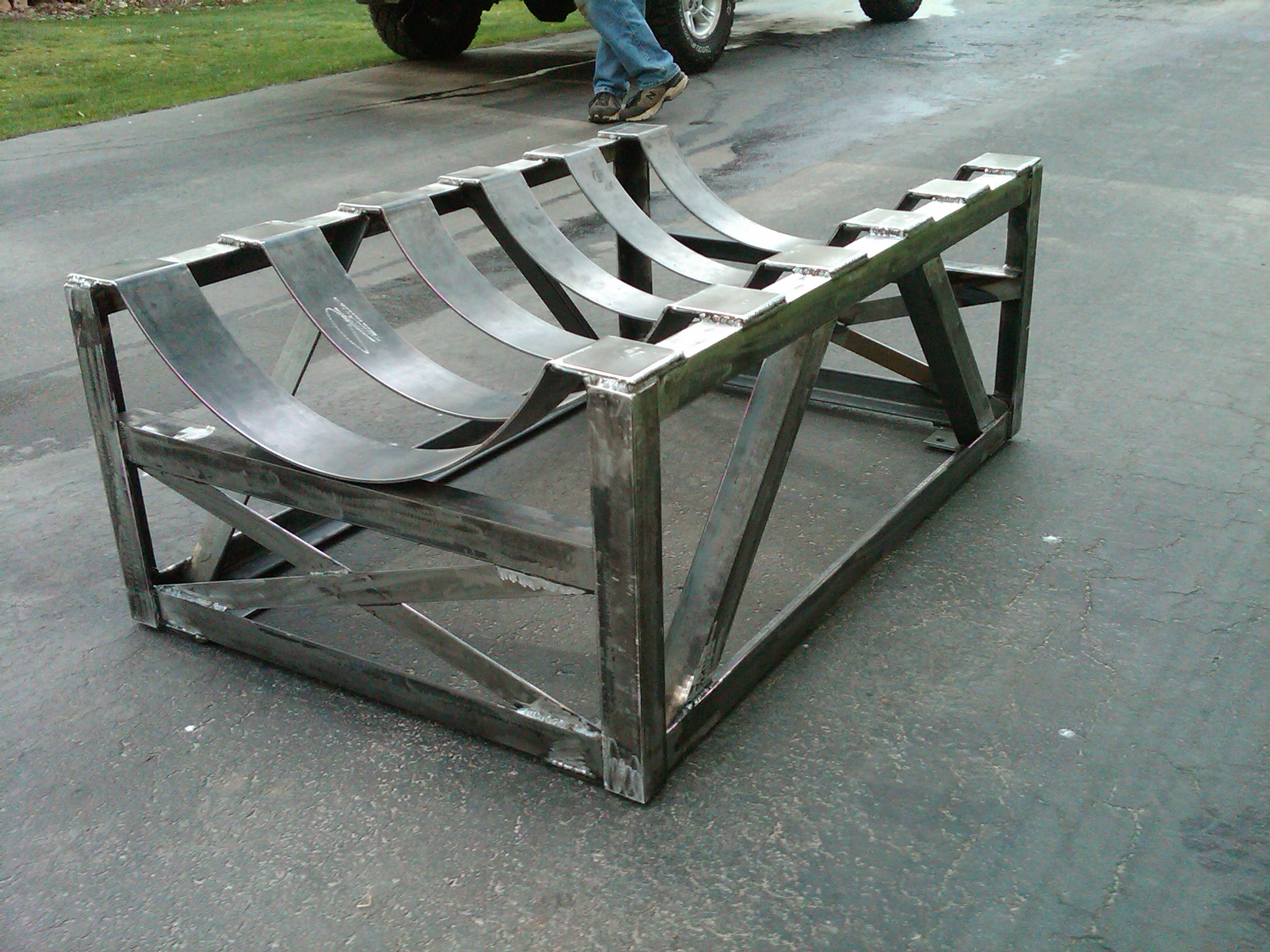 Edge for Fabrication stand