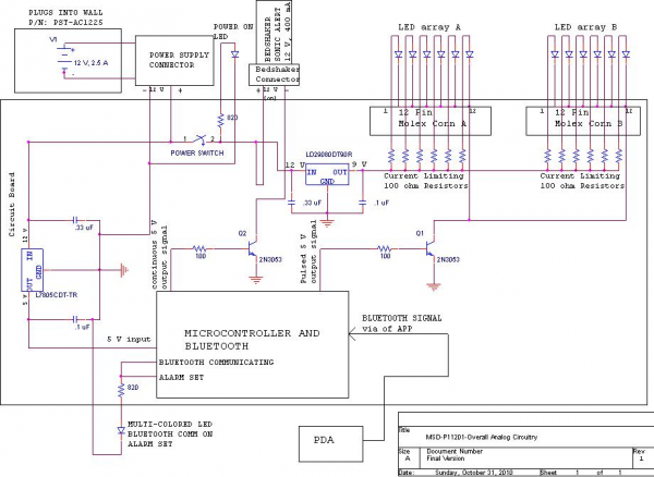 General Electronics Schematic and Possible Issues