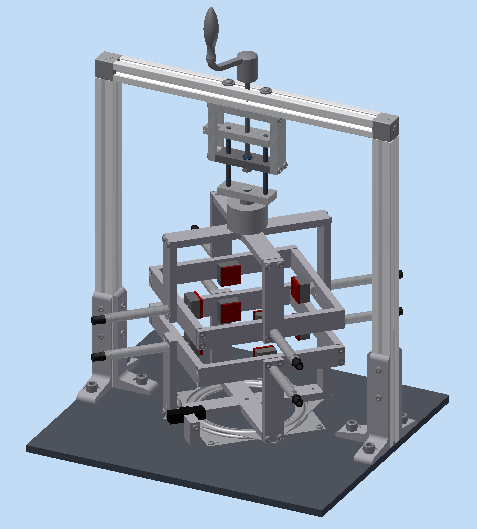 Updated Final test rig design