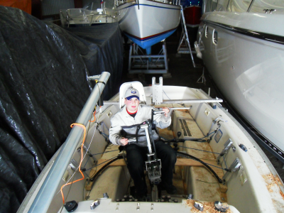 System fitted to the boat