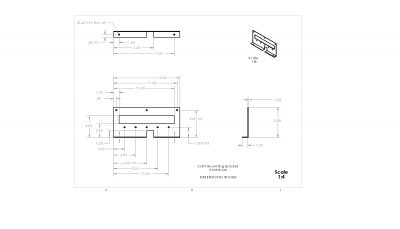 This our CAD Drawing of the LVDT mounting plate