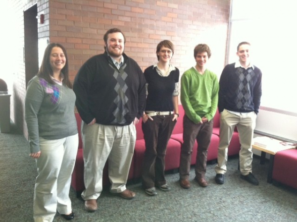 (From left to right) Jackie B, Rob H, Sabine L, Brad L, Brad O