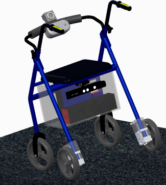 3D CAD Model of Walker