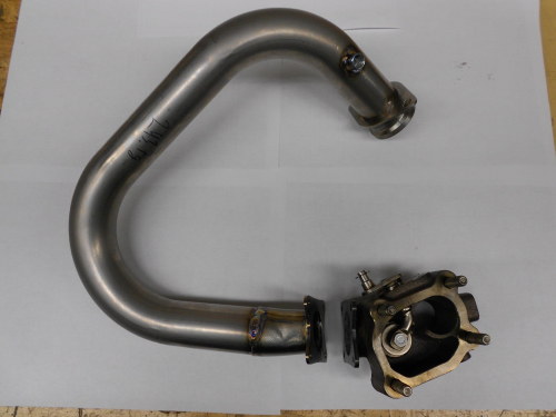 Welded Exhaust with Flange