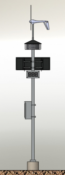 Pole Assembly Front Image