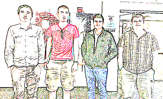 Team Members: Bardia Ghajari, Ryan Hare, Francisco Savavia, Ethan Flow