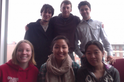 Left to Right: Jordan, Kreag, Nick, Emily, Diane, and Trang