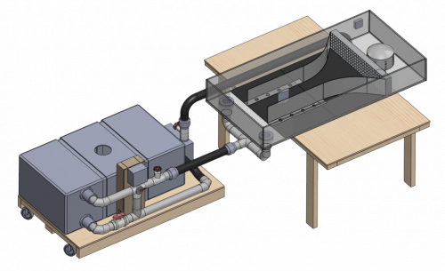 CAD Model of Water Table