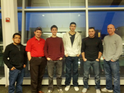 From left to right: Jose P., Stephen G., Peter H., Cameron S., Andy A., Stephen B.