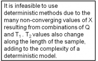 Complexity of model.