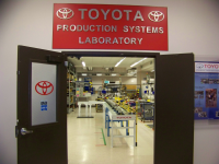 Toyota Production Systems Lab Entrance