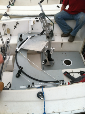 Figure 20: Chair System placed in Sonar Boat