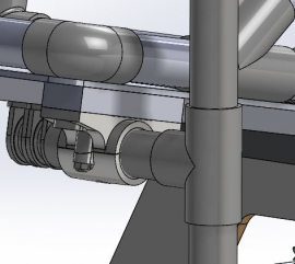 Figure 34: Steering System Attachment