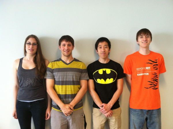 (From Left to Right) Kassandra Schlott, Jeffery Flowerday, Jonathan Nguyen, Richard Dzionara-Norsen