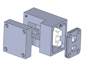 Lower Component Housing Assembly Exploded View