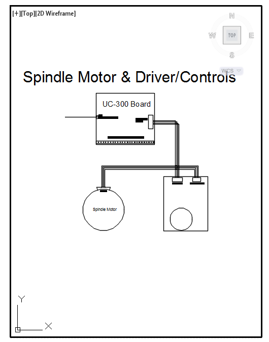 Spindle Electrical Schematic
