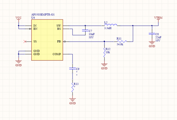 Thermoelectric Buck Converter Circuit