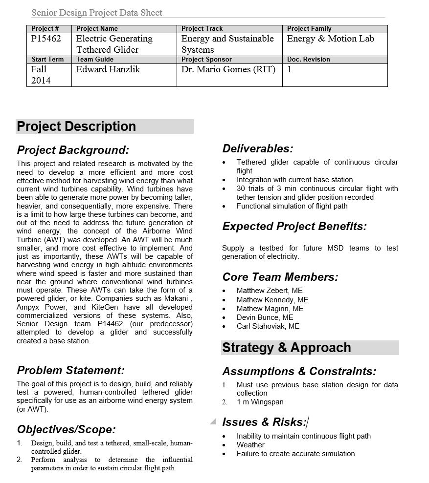 1-Page Project Summary