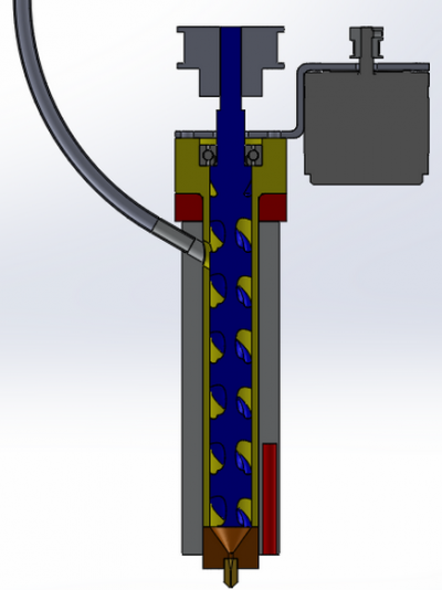 Cross Section View for Assembly