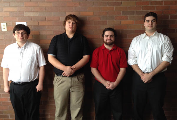 Team From Left to Right:Nicholas LeBerth, Curtis Stanard, Daniel Miller, Cameron Young