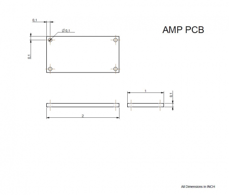 Amplifier Circuit PCB