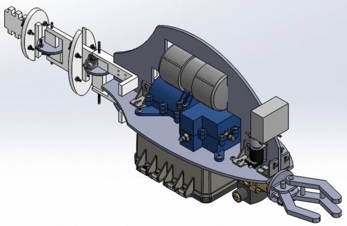 Current CAD Model of the Robofish