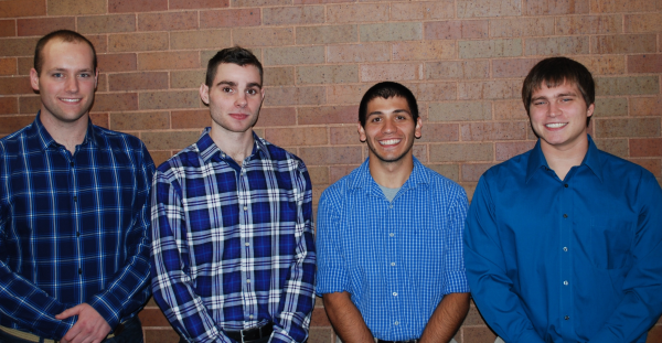 From Left to Right: John Dolan, Shay Stanistreet, Anthony Miuccio, Kris Kidder