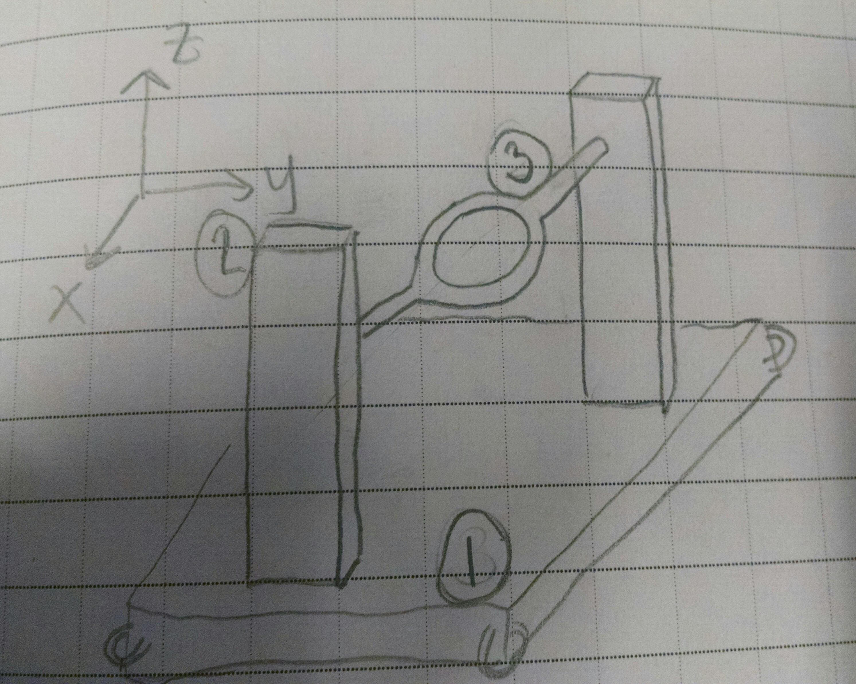 Edge Circuit Diagram For Dc Motor Control By A Collins Base Station Hand Sketch