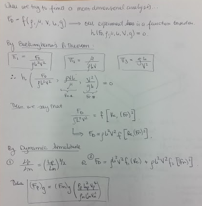 Non-dimensional Analysis 3