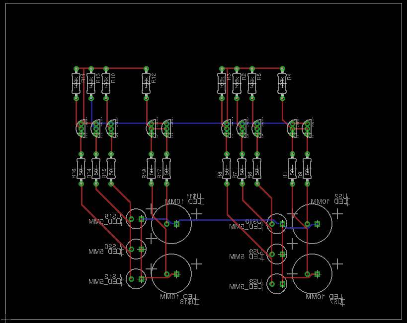 First Revision of PCB, Layout