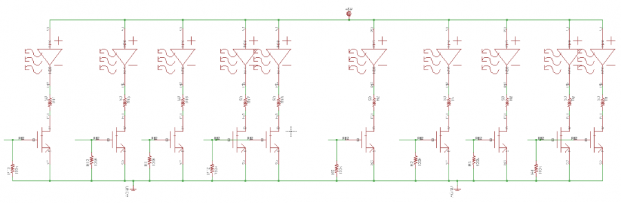 First Revision of PCB, Schematic