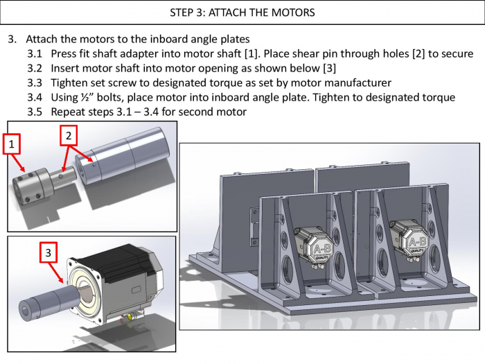 Step 3: Attach the Motors