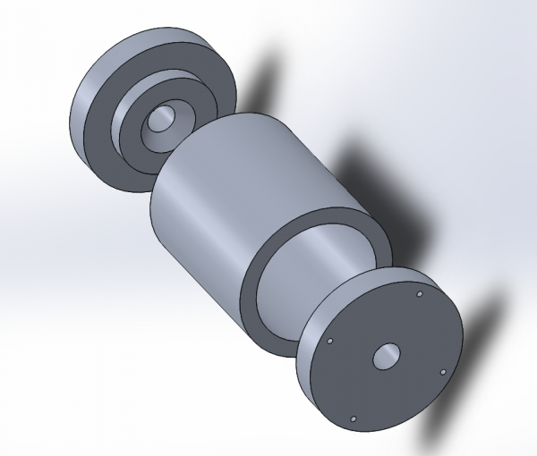 Exploded Uncoated Guide Roller