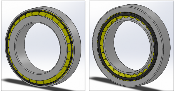 SKF Roller Bearing - Seal purchased separately