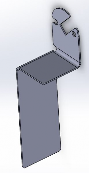 Guide pulley system bracket