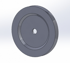 CAD Model of the Traversing Pulley