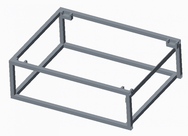 Frame sub-system with Tensioning Brackets