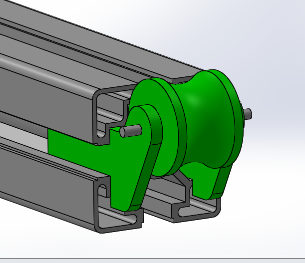 3D model of pulley for fixture