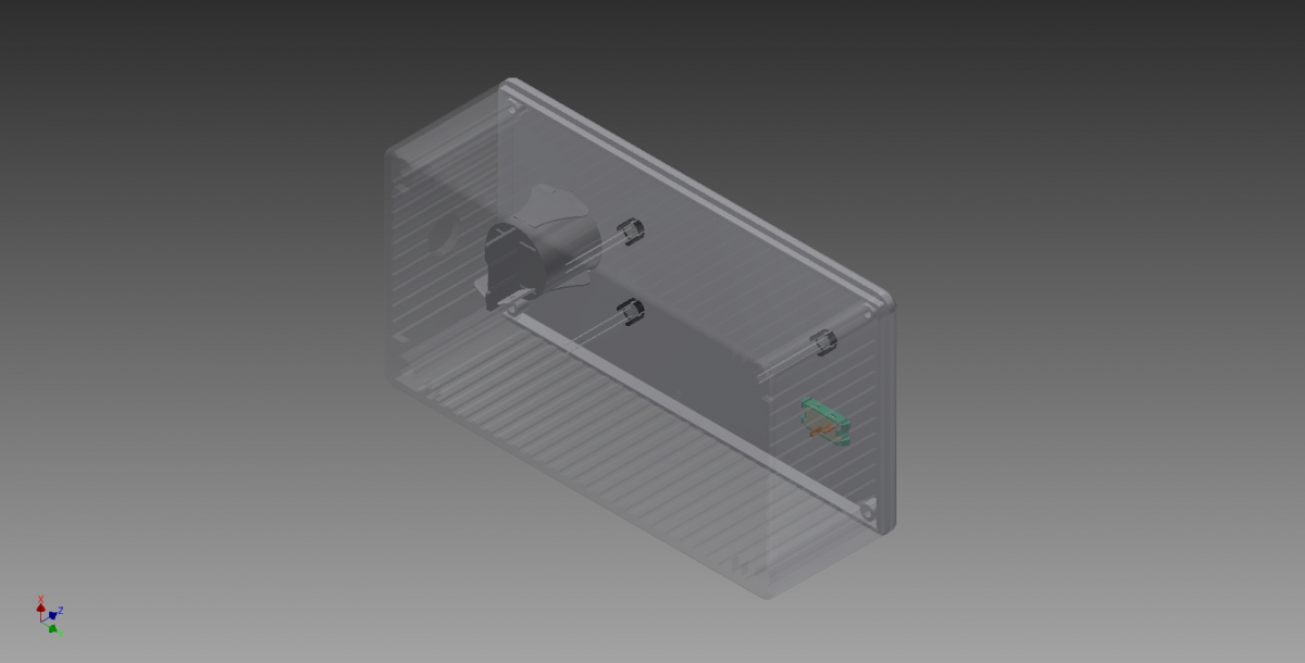 Interface Assembly Back Isometric View