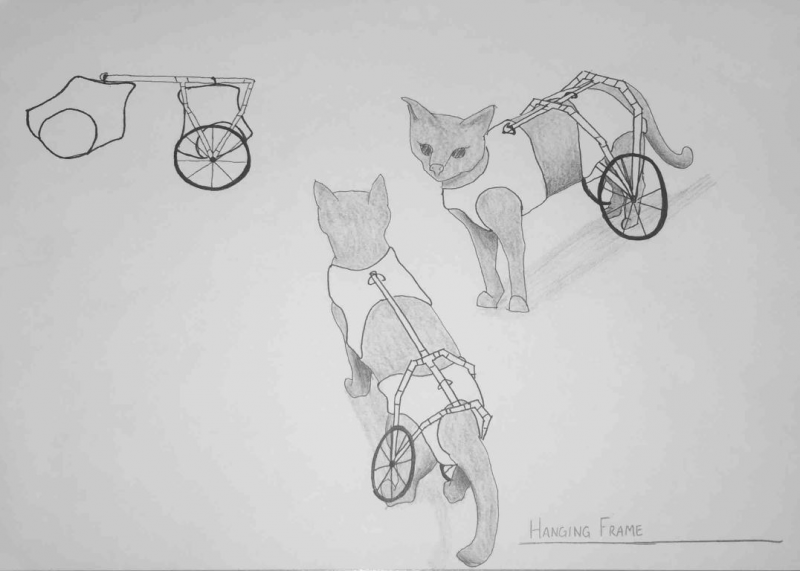 Two of two final concept sketches