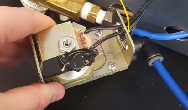 Solenoid Testing Connection