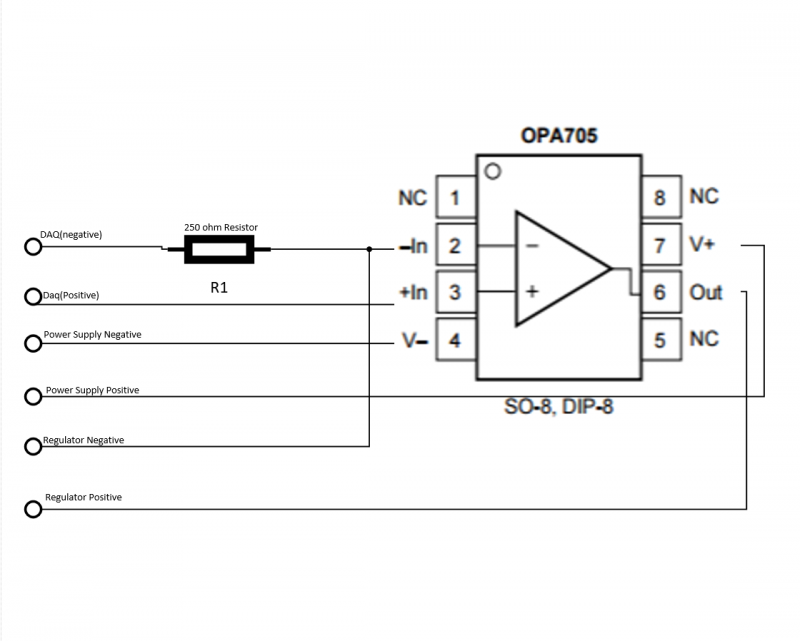 OpAmp Wiring Diagram