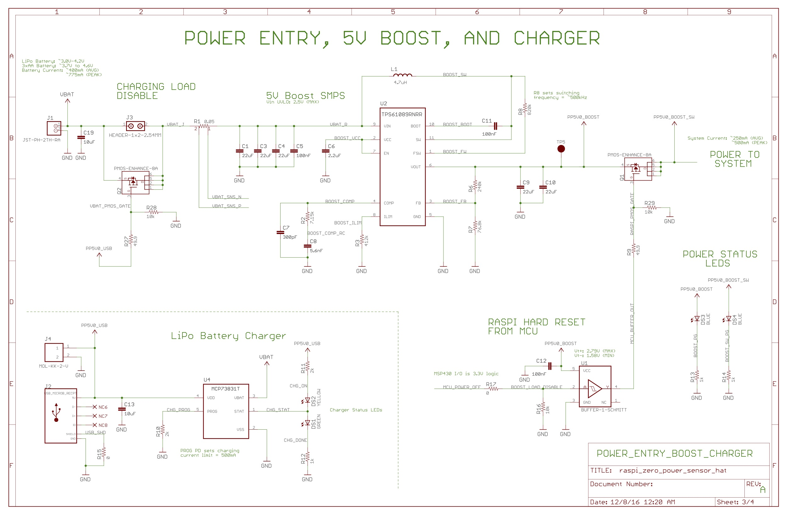 EDGE Raspberry Pi Schematics on
